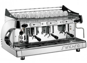Synchro 3 Group Espresso Machine